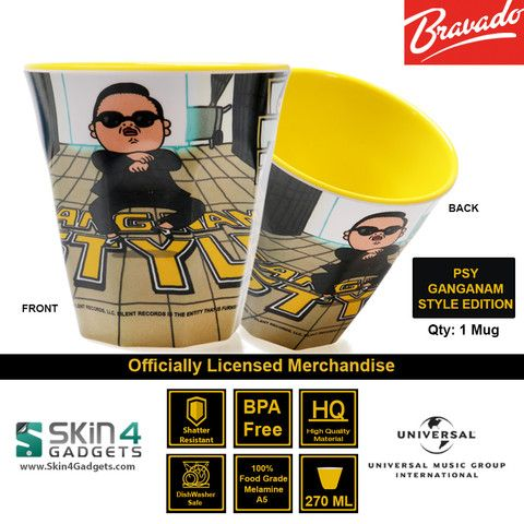 Universal Music/ Bravado Officially Licensed Merchandise Artist: PSY GANGNAM STYLE Edition