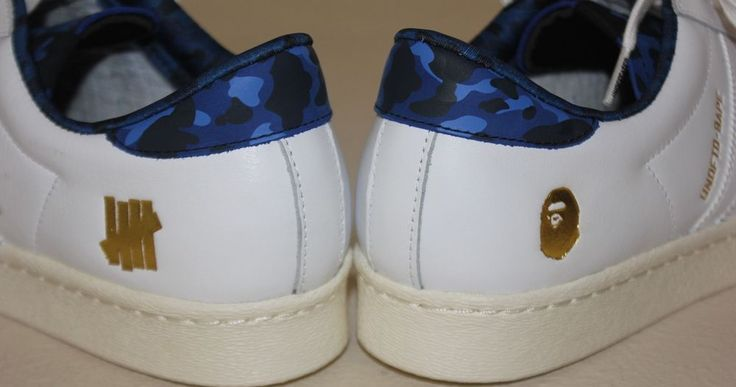 Adidas Superstar 80v A bathing Ape X Undefeated 11 Bape Rare White Blue Camo in Clothing, Shoes & Accessories, Men's Shoes, Athletic   eBay