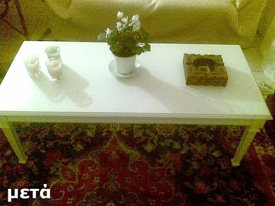 The best thing to change your mood to create! DIY change appearance at the coffee table