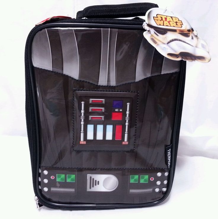 Star Wars Darth Vader Thermos Lunch Bag, Insulated, Cape, New with Tags, Disney in Collectibles, Pinbacks, Bobbles, Lunchboxes, Lunchboxes, Thermoses | eBay
