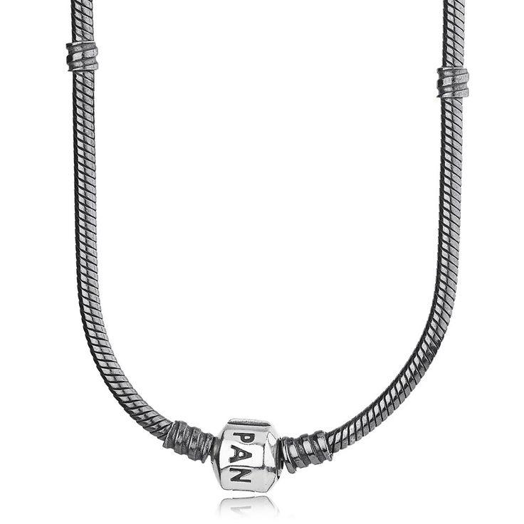 Pandora Oxidised Collier Necklace 590703OX On Sale