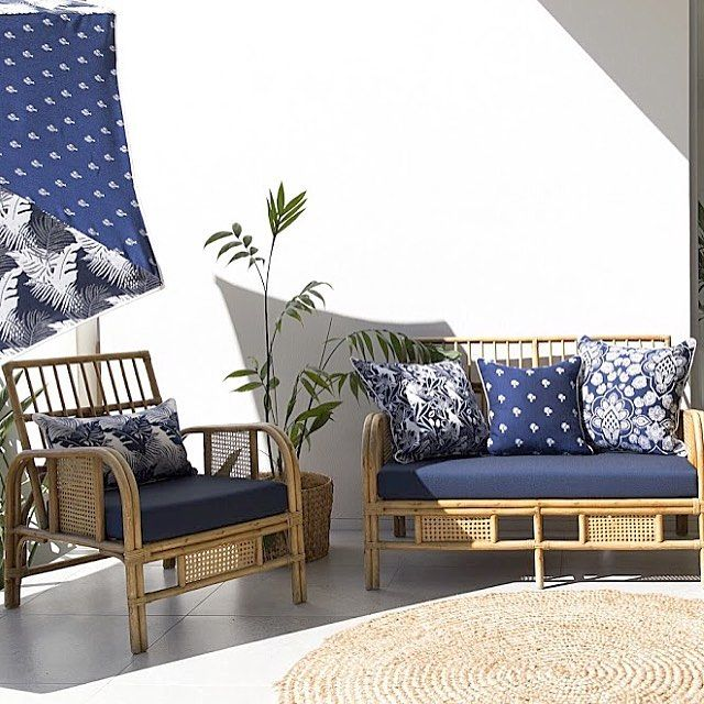#3beaches #coastcollection #nautical #blueandwhite #navy #palmtrees #palmleaves #umbrella #cushions #indooroutdoor #outdoorfurniture #outdoorfabric #outdoorliving
