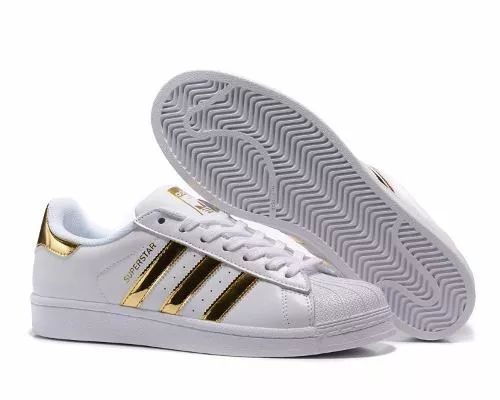 adidas superstar doradas en caja stock- 100% originales