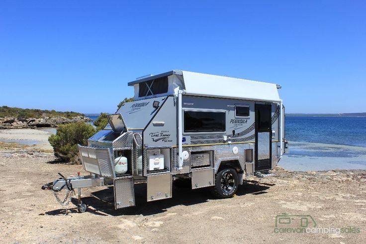 Original 2006 Australian Off Road Campers Aor Odyssey Export Camper Trailer