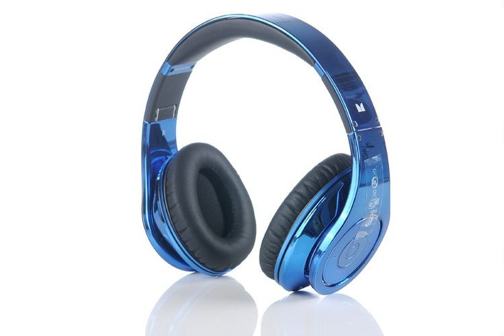 Monster Beats Studio Electroplating Dark Blue Headphones