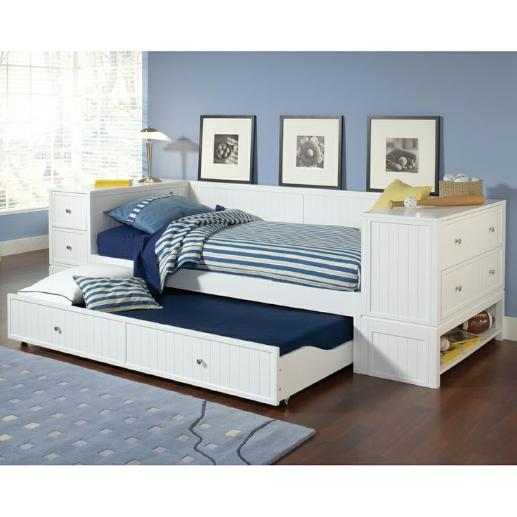 brimnes daybed frame with 2 drawers black twin 1