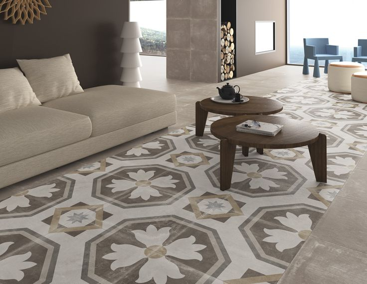 ARCANA Tiles | Tempo Taupe 60x60 cm. / Sabik 60x60 cm. | living room | design | interior design | cozy environments and full of charm