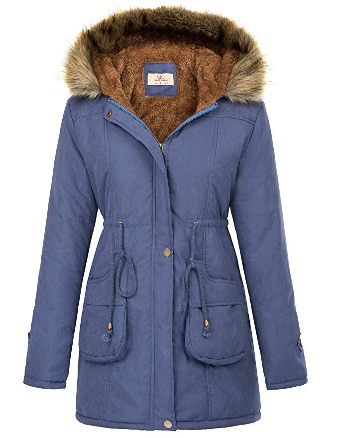 PXiong Faux Fur Coats for Women,Fashion Ladies Warm Winter Parka Wool Outerwear