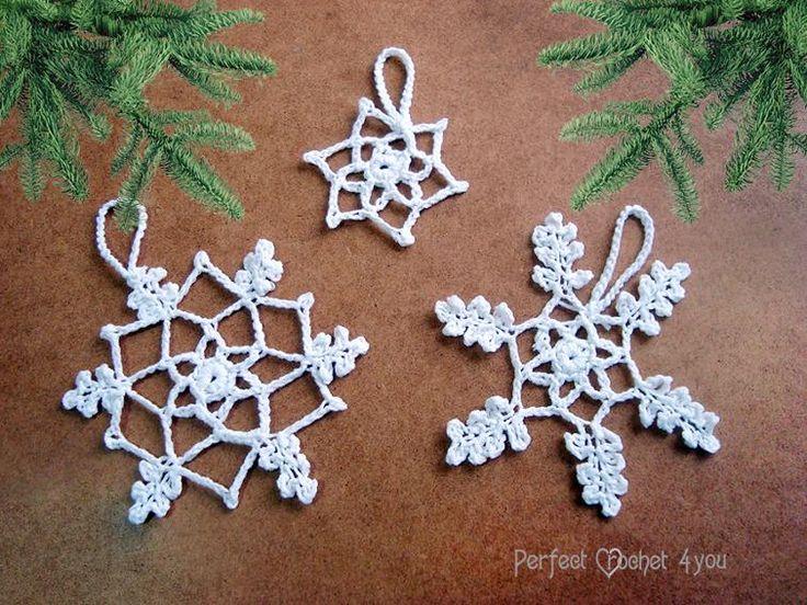 27 besten Häkeln - Schneekristalle Bilder auf Pinterest ...
