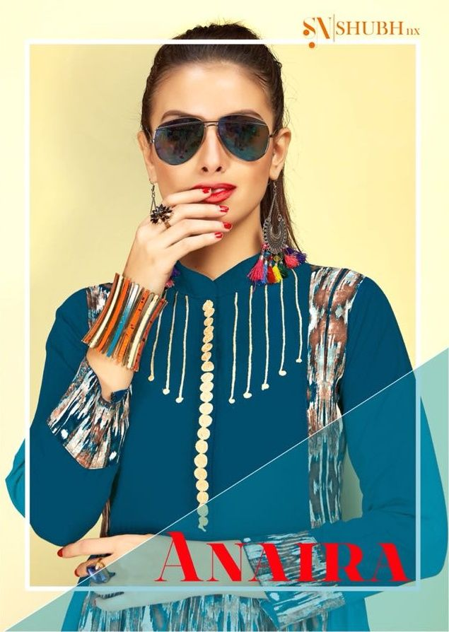 e878715230 Shubh NX Anaira Vol 1 Fancy Long Digital Printed Rayon Readymade Long Kurtis  Collection at Wholesale Rate