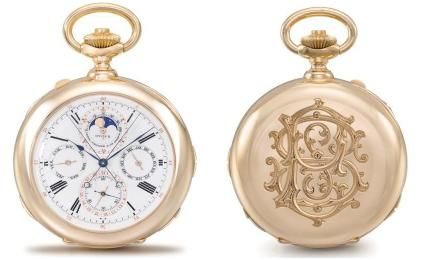 Antique Patek Philippe pocket watch dubbed Stephen S. Palmer Grand Complication