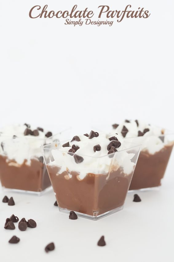 It is really so simple to make a delicious chocolate parfait from scratch! Stop by for the full recipe and pin for later!