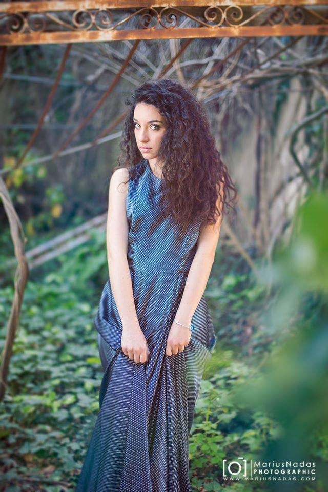 Dress Cettina Bucca - Model Valeria Tomaso - Photo Marius Nadas -