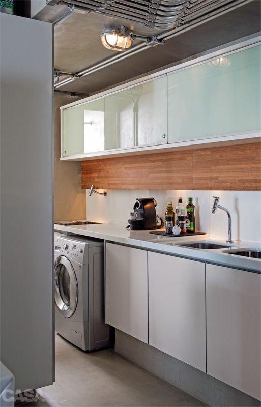 Apartamento pequeno: decoração masculina e visual uniforme - Casa