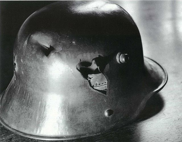 This was the stahlhelm who saved the life of Ernst Jünger.