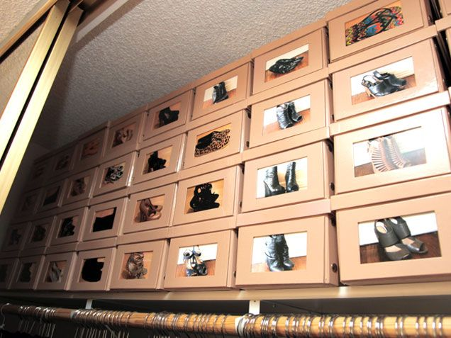 Think Outside the (Shoe) Box! 9 Genius Shoe Storage Solutions - iVillage