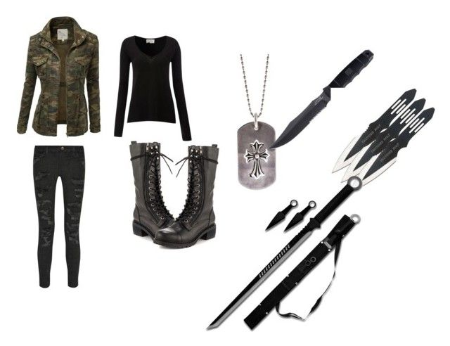 """Hunter"" by smexyandawesome ❤ liked on Polyvore featuring J.TOMSON, Kelsi Dagger Brooklyn, American Vintage, Current/Elliott, Chrome Hearts and Handle"