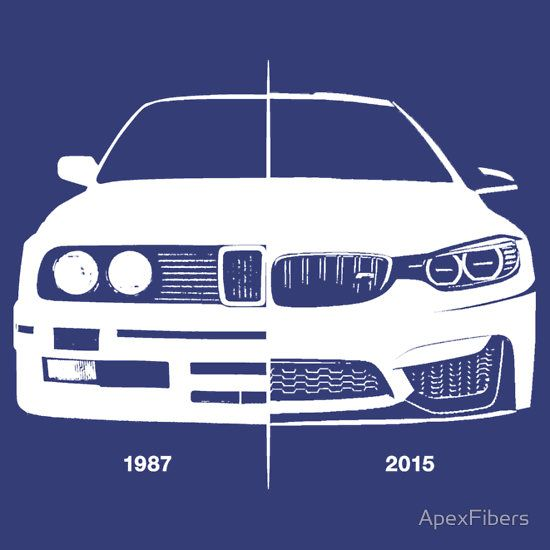 Old / New - BMW M3 (e30) / BMW M4 (F82)