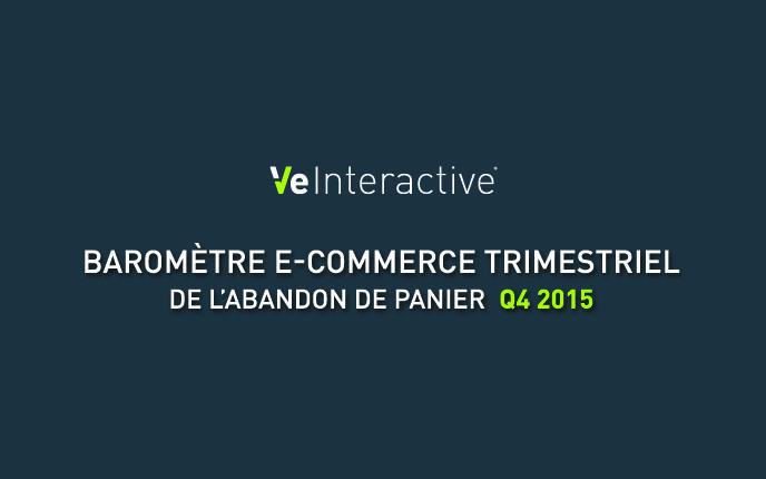 E-Commerce : le Baromètre de l'Abandon de Panier (Q4 2015)