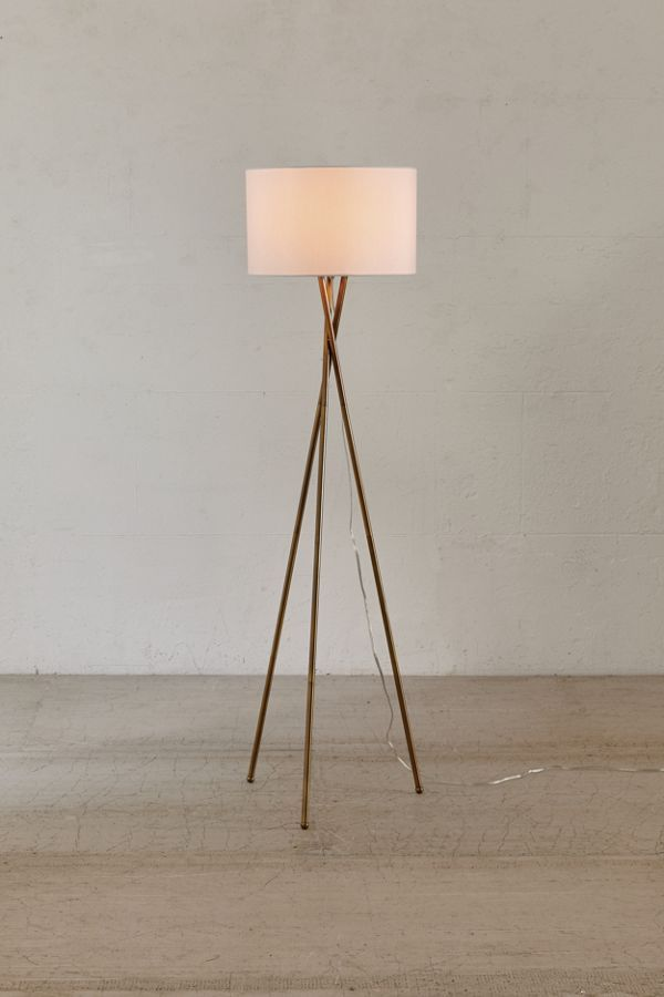 Clara Tripod Floor Lamp Home Pinterest Modern Floor Lamps Floor Lamp And Flooring