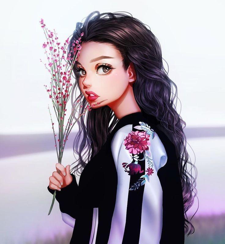 Image Decouverte Par Jung Kyung Soon Decouvrez Et Enregistrez Vos Images Et Videos Sur We Heart It Digital Art Girl Girly Art Art Girl