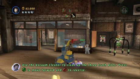 Tabloid Tidy Up - LEGO Marvel Super Heroes Wiki Guide - IGN