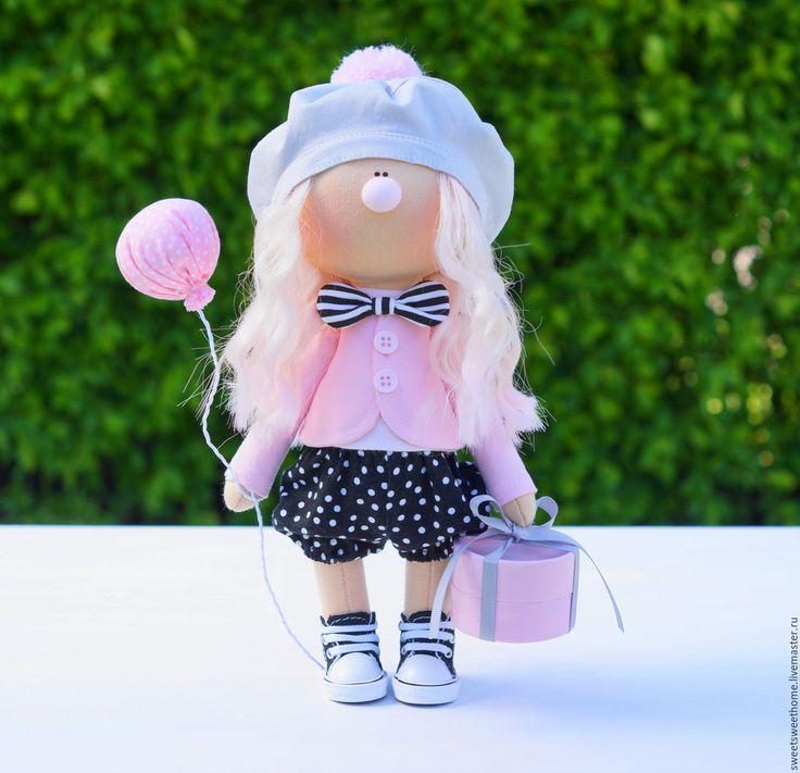 Купить На День Рождения - розовый, серо-розовый, розово-черный, серый, клоун, Праздник
