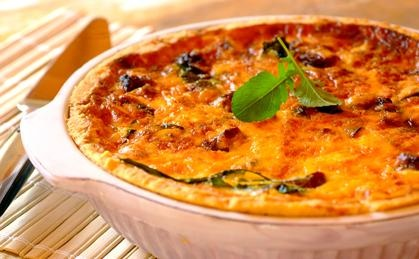 Boerewors and Onion Quiche: try this delicious flan using South Africa's favourite sausage.