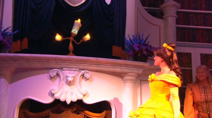 First Look: Lumiere, Madame Wardrobe Welcome You to Enchanted Tales with Belle at Magic Kingdom Park
