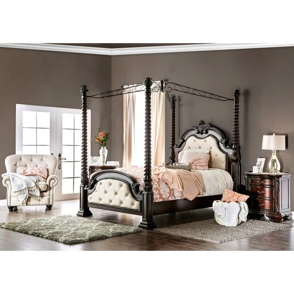 California King Size Canopy Bed Beds : Transform The Look Of Your Bedroom  By Updating Possibly The Most Important Furniture In The Space, Letting You  Create ...