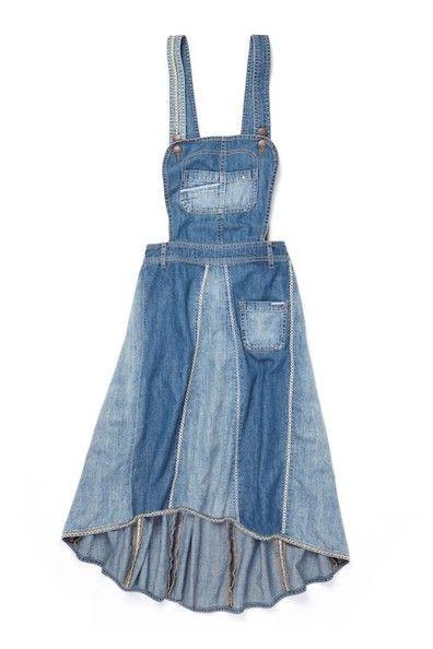 An Overall Dress