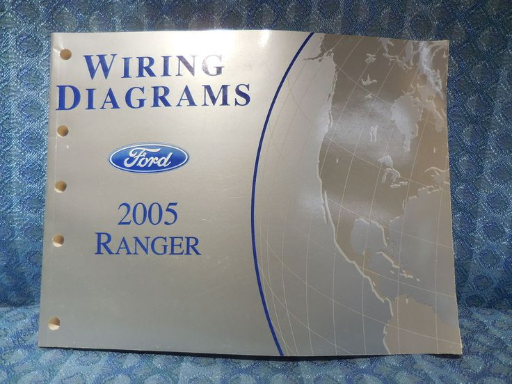 2005 Ford Ranger OEM Wiring Diagrams Manual #Ford