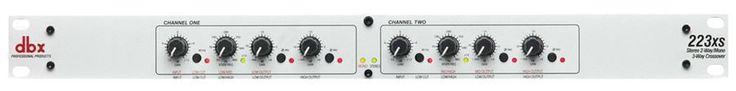 dbx 223XS Pro Audio Rack Mount Audio Crossover