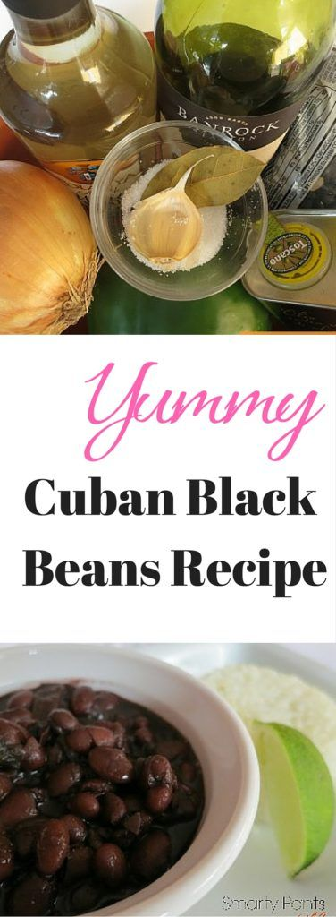 A simple and delicious family recipe of Cuban Black Beans. Serve with rice and enjoy!