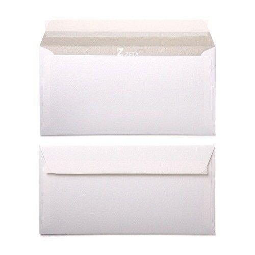 White Hammer DL Envelopes 120GSM Wallet Style - Zanders Zeta Pack Size : 25 Envelopes