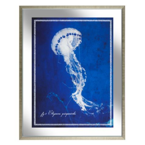 Blue Jellyfish From Z Gallerie