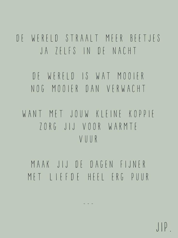 De wereld straalt meer beetjes - Geboorte tekstje, kaartje, babykaartje, gedichtje voor een kindje, Gewoon JIP. © Een tekstje van JIP. gebruiken? Dat kan! Maar neem eerst even contact op via info@gewoonjip.nl