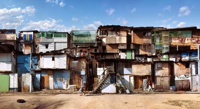 Architektur Projekt-Foto digital-manipulliert dionisio-gonzalez