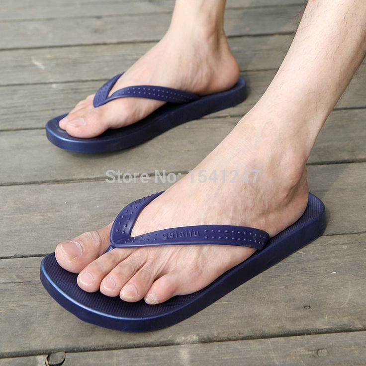 Barefoot In Flat Shoes