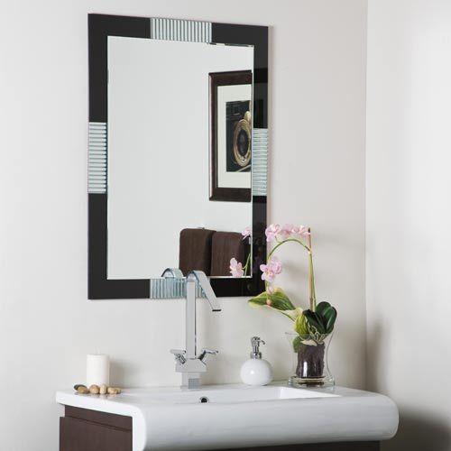 Francisco Large Frameless Mirror