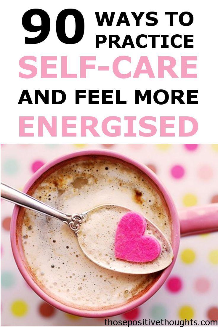 Sie können nie genug Selbstpflege-Ideen haben! Dies ist eine Liste von 90 Ideen für Ihre s …   – Self Care For Moms