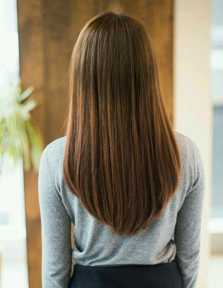 концы полукругом на средние волосы фото
