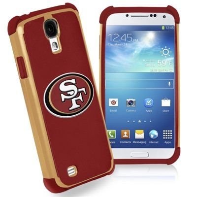 San Francisco 49ers Dual Hybrid 2-Piece Samsung Galaxy S4 Phone Case - Scarlet