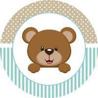 Osito para Fiesta de Niño: Mini Kit para Imprimir Gratis.