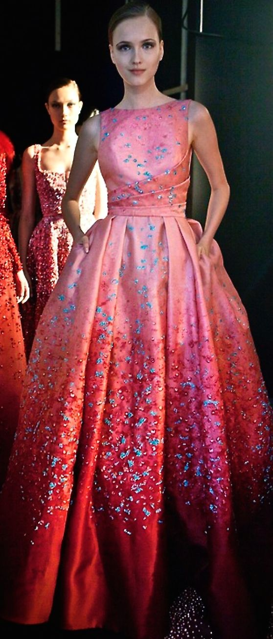 Elie Saab, a little prom-dressy, but sweet