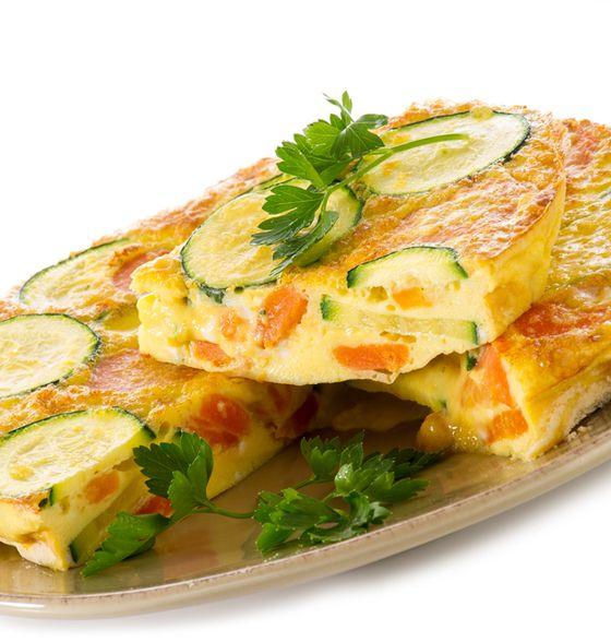 Maxines Burn : Roasted Sweet Potato, Zucchini & Feta Frittata Squares