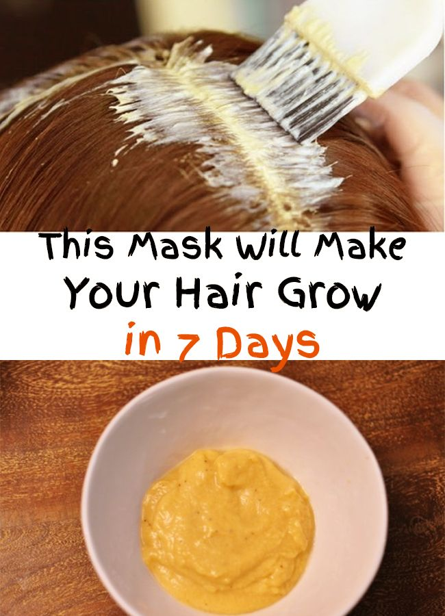 Amazing! This Mask Will Make Your Hair Grow in 7 Days! Find out the ingredients and prepare this miraculous mask! Your hair will be richer and longer!
