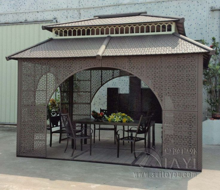 Cheap Outdoor Gazebo, Buy Quality Pavilion Garden Directly From China Patio  Tent Suppliers: Meter Gazebos Iron Frame Wicker Rattan Outdoor Gazebos Iron  Tent ...