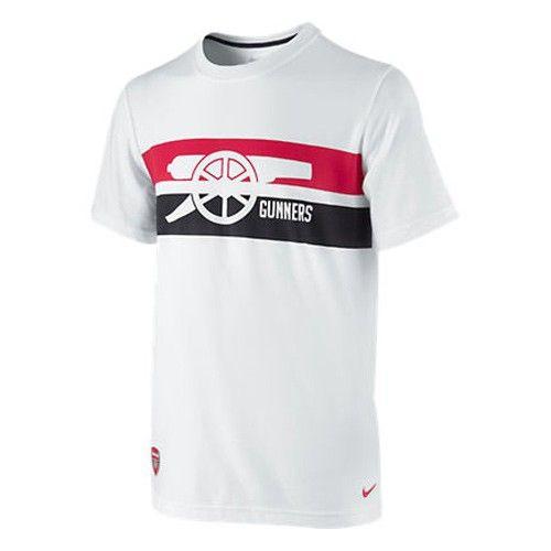 Nike Arsenal Boys' Core Tee - White $19.79