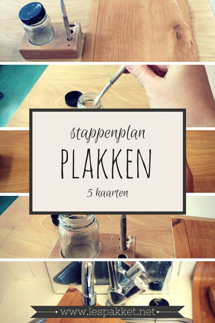 Stapenplan: plakken - jufBianca.nl - gratis download
